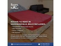 Rooms to Rent in Huddersfield Bills Included