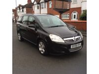 2008 Vauxhall Zafira 1.6 Exclusive 5dr estate petrol manual 1 owner 7 seater full history £2150