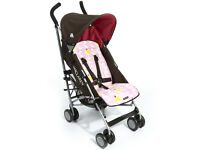 Maclaren Quest Mod pushchair - Coffee Brown/Powder Pink - 50.00