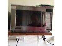 SHARP 1900 WATT COMMERICAL MICROWAVE AND GLASS WASHER FOR SALE
