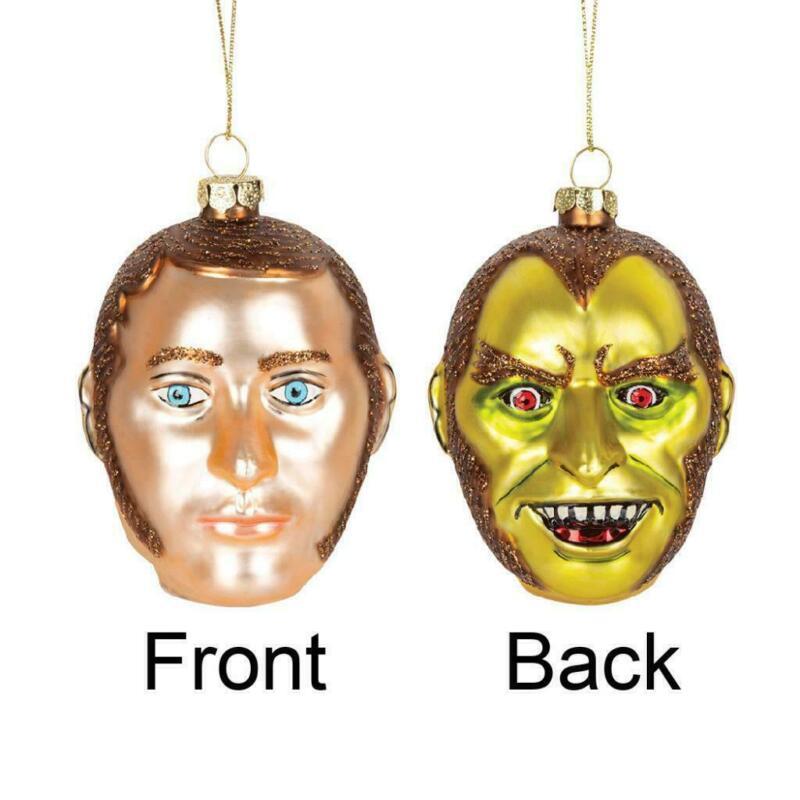 DR JEKYLL & MR HYDE ORNAMENT Halloween or Christmas Robert Louis Stevenson boxed