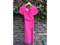 Designer Maggy London Vintage Silk Dress