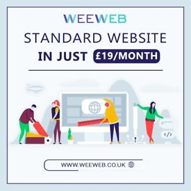 UK BASED PAY MONTHLY MANAGED WEBSITE FOR JUST £19/MONTH!