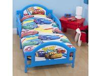 Disney Cars Toddler Beds Set + Duvet + Mattress+ Pillow + Duvet Cover + Pillow Case+ Sheet