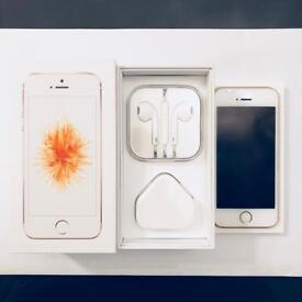 Fully Boxed iPhone SE Gold 64GB