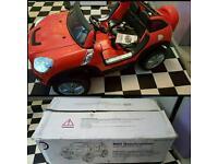 Kids 12v 2 Seater mini