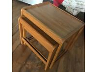 Vintage/ 60's style nest coffee/ side tables