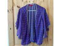 Sequin Trim Kimono