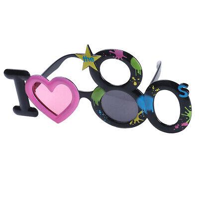 Neuheit ich liebe die 80er Jahre Sonnenbrille 80er Jahre Generation lustige ()