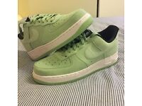 Nike Air, Air Force 1. Women's size 6 Green trainers. Never worn. BRAND NEW!!!