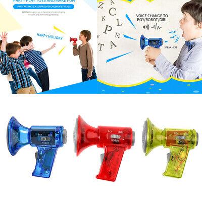 3Pcs Multi Voice Changer Toy Megaphone Change 3 Sounds Effects Modifier - Voice Modifier