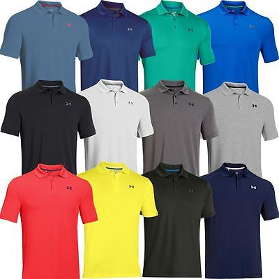 Under Armour UA 2016 Mens HeatGear Performance 2.0 Golf Polo Shirt -New Colours