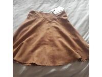 *Brand new* suedette skirt