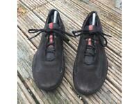 Prada suede trainers size 5