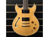Washburn HB-50 Semi Hollow Electric Guitar Japan 1990 Rare