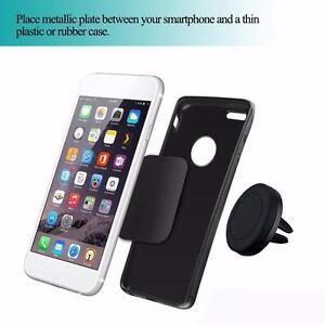Universal Magnetic Car Air Vent Holder Stand Mount For Mobile Cell Phone