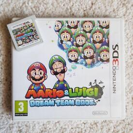 3DS Mario and Luigi Dream Team