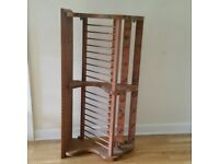 wooden plate rack by Penny Pine