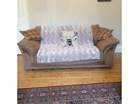 Selling a two seater mocha / light brown colour sofa.