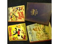1950s annuals x4