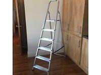 Ladder 6 foot metal ladder