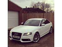 Audi A4 2.0 TDI S Line Special Edition Multitronic 4dr, Black Edition Styling, FDSH