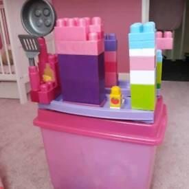 Kitchen style MegaBlok toy set