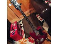 Epiphone sg bass guitar