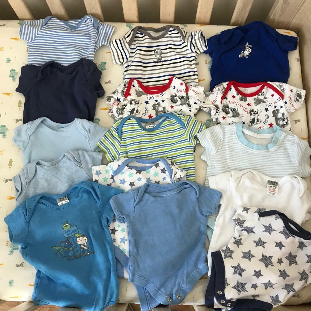 Baby Boy Clothes Bundle Newborn To Roughly 3 6 Month Old In North