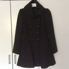 Elegant black coat