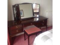 Stag Minstrel rosewood bedroom furniture