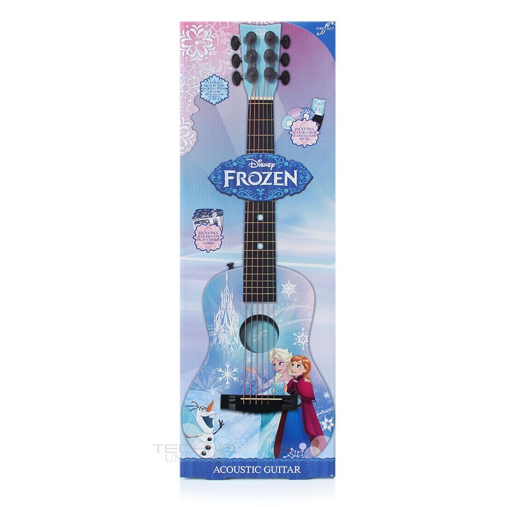 Disney Frozen Acoustic Guitar With Guitar Strap 6 Learn To Play