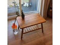 Wooden coffee table / tv stand Danish furniture style