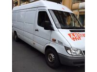 MAN AND VAN HIRE/STORAGE /7DAYS /SHORT NOTICE/LOCAL AND NATIONAL MOVES/EST OVER 15YEARS
