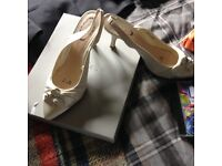 Ladies size 5 Ivory shoes