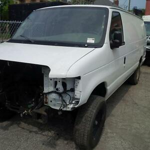 2008 E350 ext Ford Van 6L
