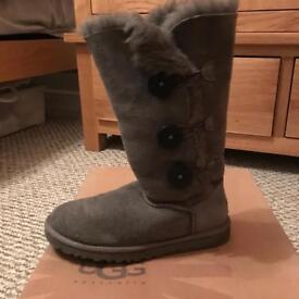 Genuine UGG boots grey size 4.5 £60