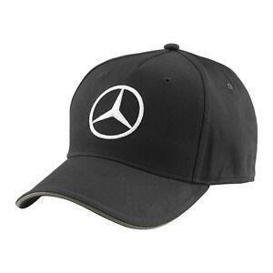 CAP Formula One 1 Mercedes AMG Petronas F1 Team Hamilton Rosberg Black NEW!