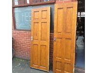6 mixed excellent quality doors