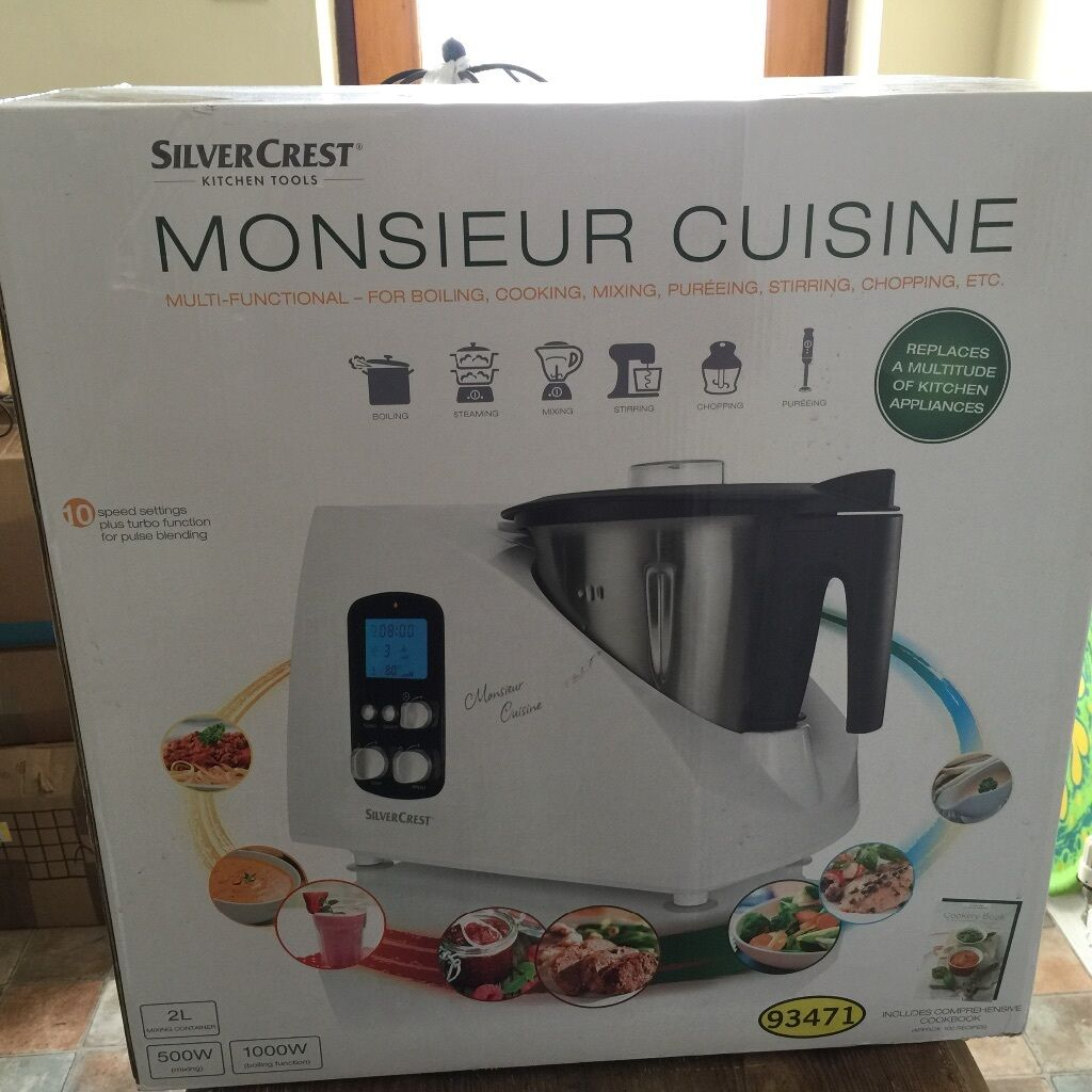 Silver crest monsieur cuisine thermomix in poole dorset gumtree - Monsieur cuisine plus vs thermomix ...