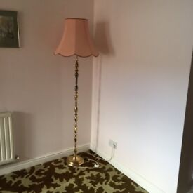 2 standard lamps for sale