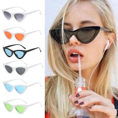 2017 New Fashion Women Cat Eye Sunglasses Vintage Frame Retro Sunglasses UV400