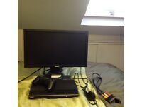 Excellent Condition Super Slim PS3 132gb With Its Monitor