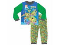 Teenage Mutant Ninja Turtles Pyjama Set Aged 6-7 Yrs - New