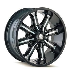 "BRAND NEW 17""MAYHEM WHEELS IN STOCK----FORD, CHEVY, JEEP, DODGE, GMC----$STARING AT $790 FULL SET!!"