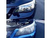 HEADLIGHTS POLISHING headlights restoration service from only £29.99 for set of headlights.