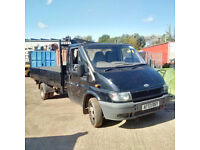 Ford Transit 90 T350 6 tyres 3.5 ton truck.