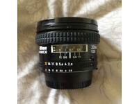 Nikon Nikkor AF 20mm f2.8 Lens - Great Condition