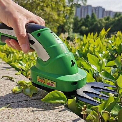 2 in 1 Cordless Hedge Trimmer Electric Trimmer Hedge Trimmers suit for Shrubbery
