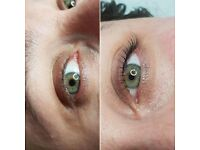 Lifting natural lashes